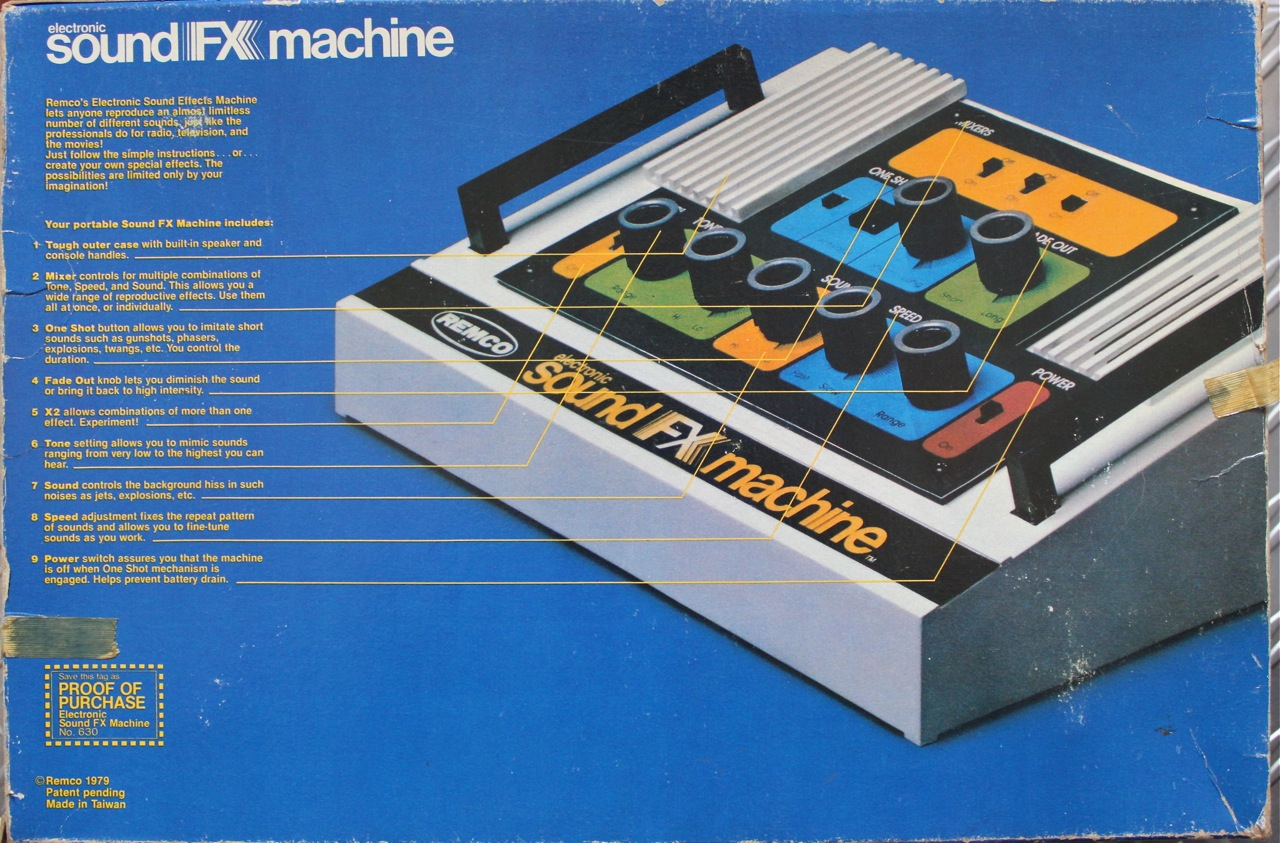 electronic sound machine